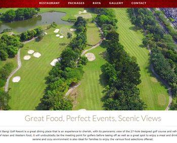 BGR Restaurant Bangi Golf Resort
